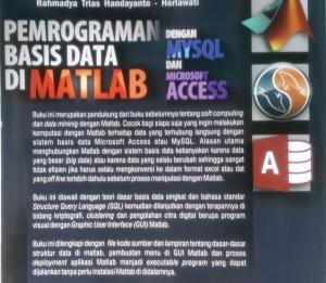 Matlab, MySQL, Access